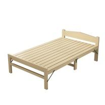 臻远 实木折叠床1.2 ZY-KLP-ZD05 W1900*D1200*H350床头550H  重量:15kg