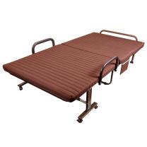 三极户外 家用午睡床海绵垫折叠床 TP1015 31*70*190cm (咖啡色)