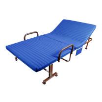 三极户外 家用午睡床海绵垫折叠床 TP1015 31*70*190cm (蓝色)