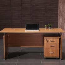 中伟 职员办公职员桌现代办公电脑桌办公桌子 1200*600含柜  DC