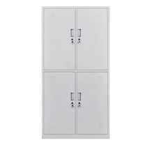 锐达星 更衣柜铁皮柜员工柜储物柜寄存包柜四门更衣柜  DC