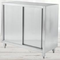 高雅厨具 1.2钢双通工作柜 打荷台 1200×800×800  货期10天