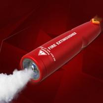 国产灭火器换粉服务 干粉 8kg (白色)