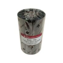 依工 增强型蜡基碳带 B220 110mm*300m (黑色) (定制)