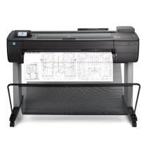 惠普 HP 36英寸A0幅面4色出图 CAD工程绘图仪 wifi连接云打印 T730