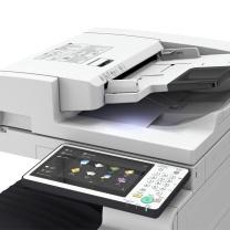 佳能 Canon A3彩色数码复印机 IR-ADV C5535  (双面同步扫描输稿器、双纸盒、传真组件,三年云佳印软件,工作台)