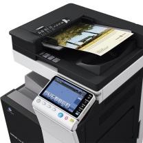 柯尼卡美能达 KONICA MINOLTA A3彩色数码复印机 bizhub C658  (双纸盒、双面输稿器,工作台)