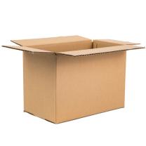 伏兴 搬家纸箱 加厚特硬瓦楞纸箱(无扣手) FX970 大号60*40*50cm  5只/组