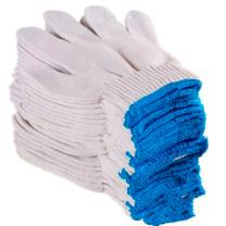 国产 手套 棉线手套 B*10 (蓝色)