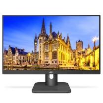 AOC 液晶显示器 24E1H 23.8英寸 IPS D-Sub HDMI (黑色) 三年上门