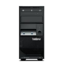 联想 lenovo 服务器 ThinkServer TS250 1*E3-1225v6 2*4G DDR4 4x3.5盘位 2*1T 7.2K SATA (黑色) 板载RAID121i 0/1/10/5 1*250W黄金 DVD 三年上门(BAT)