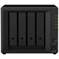 群晖 Synolog NAS网络存储服务器 DS418play (希捷_4T*3)
