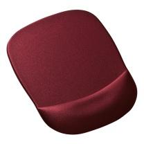 山业 SANWA 慢回弹记忆海绵鼠标垫 MPD-MU1NWR (暗红色)