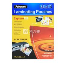 范罗士 Fellowes 塑封膜 Laminating film 53075 A3 125mic(12.5丝)  100张/包