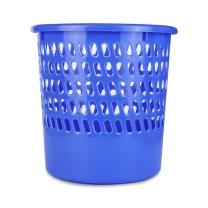 晨光 M&G 圆形镂空废纸篓 ALJ99410 10L (蓝色) 12个/箱