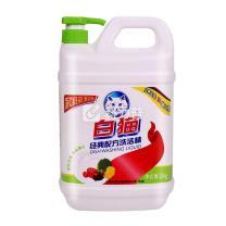 白猫 WhiteCat 经典配方洗洁精 2kg/桶  8桶/箱