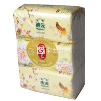 洁云 Hygienix 国色袋装面纸 162218 双层 200抽/包  3包/提 16提/箱