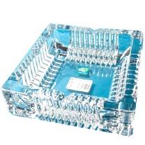 青苹果 GREEN APPLE 方形烟灰缸 YG1016-1 18*18*4.5cm  16个/箱
