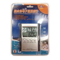 明高 室内外电子温湿度计 ETH529 98*78*17mm (银色) 48个/箱