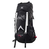 极地 onepolar 登山背包 2109# 70L (黑色) 商品毛重1.9kg