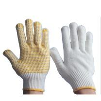 海太尔 PVC点塑手套 0003  (均码 手背为全棉纱线 手掌为黄色点珠)