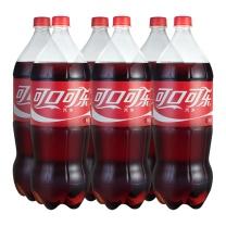 可口可乐 Coca'Cola 碳酸饮料 2L/瓶  6瓶/箱