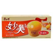 康师傅 Master Kong 妙芙蛋糕 96g/盒  24盒/箱 (奶油味)