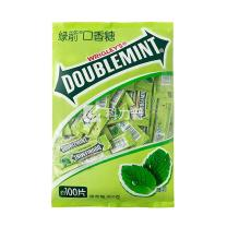 绿箭 DOUBLEMINT 口香糖 270g/袋  (16袋/箱,270g/300g新老包装交替,以实物为准)