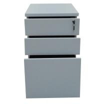 顺华 钢抽三抽活动柜 SH17-01 420W*500D*630H (灰白色) 仅限上海地区直送,郊区运费另询。