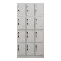 华宇天地 十二门更衣柜 H1800*W900*D350mm (灰白色) 江浙沪含运,其他地区运费另询。