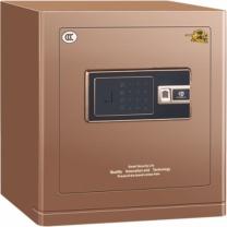 中亿 Z系列指纹锁保险箱 FDX-A/D-40FBZII H430*W370*D350 (咖啡金) 江浙沪含运,其他地区运费另询。