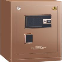 中亿 Z系列指纹锁保险箱 FDX-A/D-45FBZII H480*W400*D350 (咖啡金) 江浙沪含运,其他地区运费另询。
