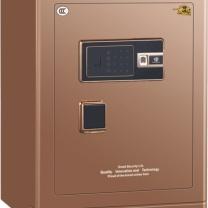 中亿 Z系列指纹锁保险箱 FDX-A/D-55FBZII H600*W430*D380 (咖啡金) 江浙沪含运,其他地区运费另询。