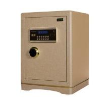 京鑫辉 全钢精锐指纹系列80豪华型保管箱 H800*w500*D450 (棕皮纹) 北京五环内含运,其余地区运费另询。