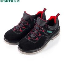 世达 STAR 世达 SATA FF0511-38休闲款多功能安全鞋 保护足趾 防刺穿(黑 红) FF0511-38