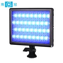 南冠 南冠(Nanguang)CN-RGB11 南光单反led全彩补光灯RGB婚庆拍摄像灯便携摄影常亮柔光灯 DC适配器或F550电池