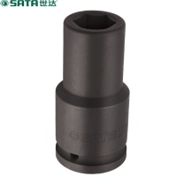 世达 STAR 世达 SATA 34614 3/4寸系列六角风动长套筒 重型套筒26mm 26mm 34614