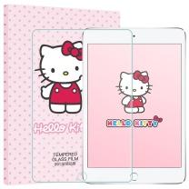 Hello Kitty Hello Kitty 苹果新iPad7钢化膜 /iPad Air/Air2/Pro9.7英寸屏幕保护贴膜 高清防爆 弧边 【防刮防爆】新ipad/air2-钢化膜
