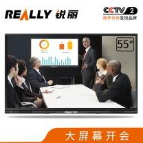 Really 锐丽 Really 智能会议平板55英寸55M01 视频会议 会议一体机 电子白板 多媒体教学触摸一体机 商用电视 55英寸能会议平板