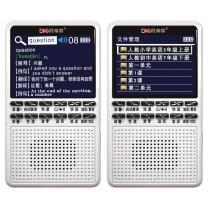 帝尔 帝尔DIER MP3复读机D24蓝色16G 抓词翻译生词/智能断句分句复读/A-B变速复读学生复读机英语学习小语种录音笔 D24蓝色16G-锂电池