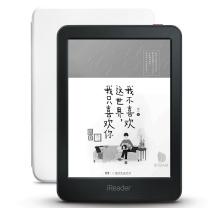 掌阅 iReader 掌阅(iReader)青春版 电子书阅读器 6英寸墨水屏 8G存储 黑色+原装保护套 白色 套装二