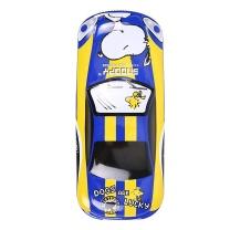 晨光 M&G 晨光(M&G)史努比系列蓝色汽车造型双层铁笔盒文具盒SSB90245 双层汽车