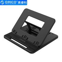 奥睿科 ORICO 奥睿科(ORICO)平板笔记本扩展坞支架电脑支架 桌面增高收纳架子 便携手提 USB3.0+Type-C 黑NSN-3AC 折叠支架-带TYPE-A*3/TYPE-C*1黑