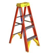 稳耐 稳耐(werner)玻璃钢梯子1.2米绝缘电工梯单侧折叠人字梯电力电信工程工业梯登高梯6204CN 6204CN 1.2米