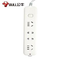 公牛 BULL 公牛(BULL)GN-S1220 1.6M新国标 公牛插座排插线板插排接线板电源转换器插板家用拖线板