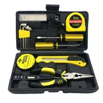 伏兴 伏兴 FX341 19件套家用工具箱套装 多功能维修工具组套 组合工具套装 19件工具套装(常规款)