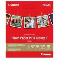 佳能 Canon 佳能(Canon)PP-201 SQ 5IN. (20) 高级光面照片纸 13*13cm正方形 20张