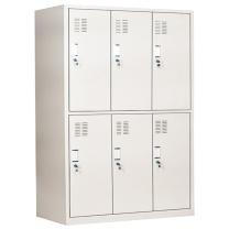 保险柜 甬康达1850定制文件柜加厚保险办公六门更衣柜保密柜铁皮柜