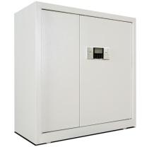 保险柜 全能文件柜 带锁办公家用密码保险储物资料箱柜 WJG90 高90CM 规格(90CM高 下抽)