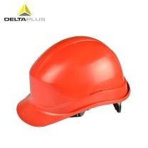 代尔塔 DEITAPLUS 代尔塔 /DELTAPLUS 102011 劳保安全帽 建筑工地工程防砸工厂车间施工头盔 电工电力绝缘 橙色 1个 橙色